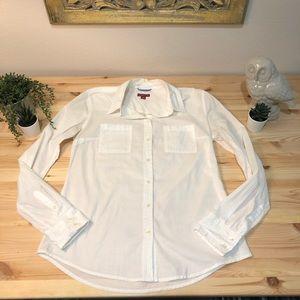 Merona cotton button down shirt